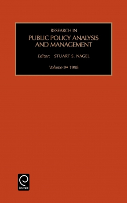 Jacket image for Research in Public Policy Analysis and Management