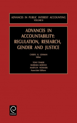 Jacket image for Advances in Accountability