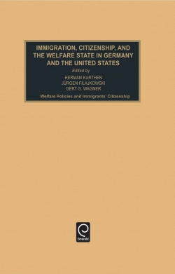 Jacket image for Immigration, Citizenship and the Welfare State in Germany and the United States