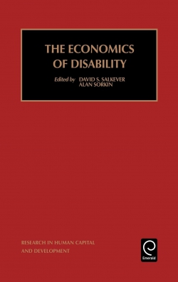 Jacket image for The Economics of Disability
