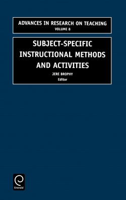 Jacket image for Subject-specific instructional methods and activities