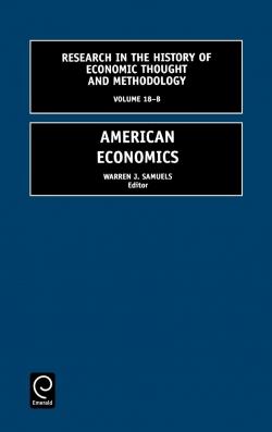 Jacket image for American Economics