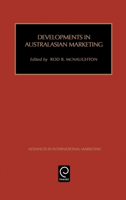 Jacket image for Developments in Australasian Marketing