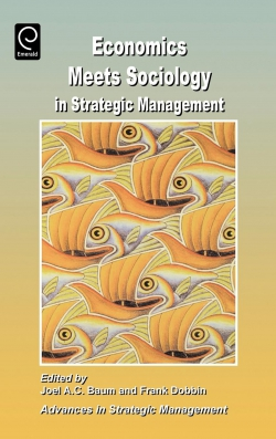 Jacket image for Economics Meets Sociology in Strategic Management