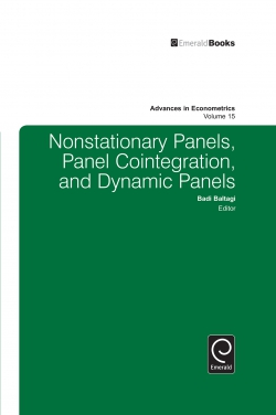 Jacket image for Nonstationary Panels, Panel Cointegration, and Dynamic Panels