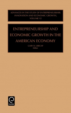 Jacket image for Entrepreneurship and Economic Growth in the American Economy