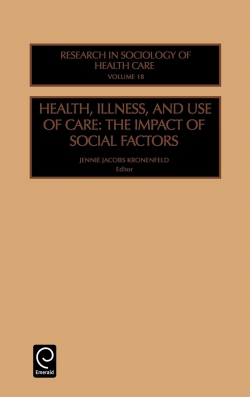Jacket image for Health, Illness and Use of Care