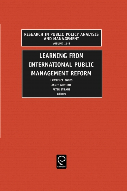 Jacket image for Learning from International Public Management Reform