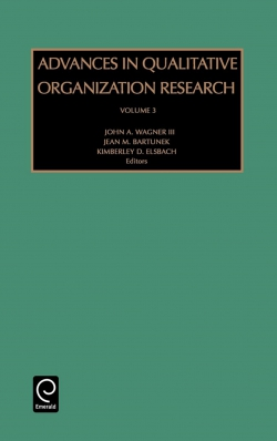 Jacket image for Advances in Qualitative Organization Research