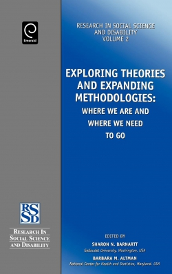 Jacket image for Exploring Theories and Expanding Methodologies