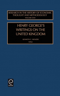 Jacket image for Henry George's Writings on the United Kingdom