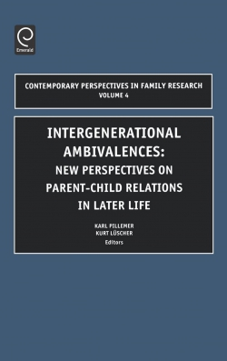 Jacket image for Intergenerational Ambivalences