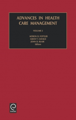 Jacket image for Advances in Health Care Management