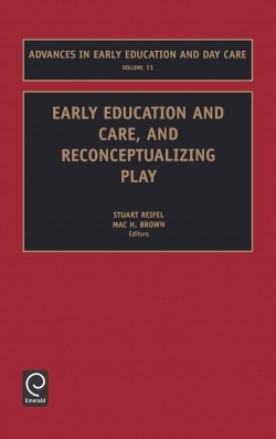 Jacket image for Early Education and Care, and Reconceptualizing Play