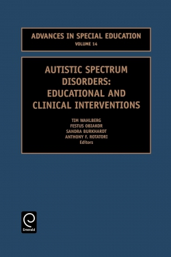 Jacket image for Autistic Spectrum Disorders