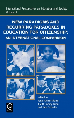 Jacket image for New Paradigms and Recurring Paradoxes in Education for Citizenship