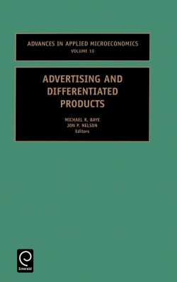 Jacket image for Advertising and Differentiated Products