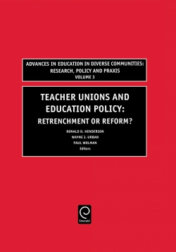 Jacket image for Teachers Unions and Education Policy