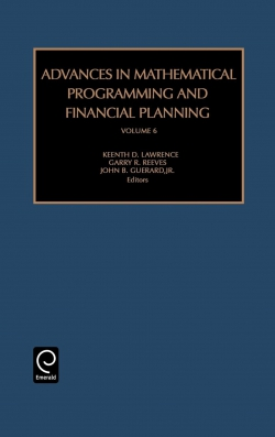 Jacket image for Advances in Mathematical Programming and Financial Planning