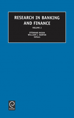Jacket image for Research in Banking and Finance