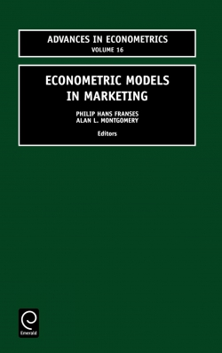 Jacket image for Econometric Models in Marketing