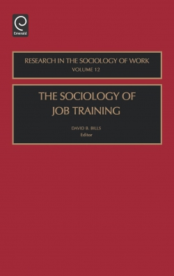 Jacket image for The Sociology of Job Training