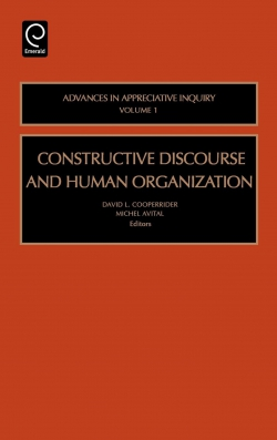 Jacket image for Constructive Discourse and Human Organization