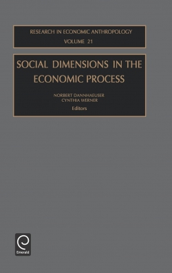 Jacket image for Social Dimensions in the Economic Process