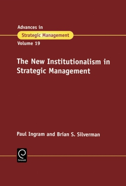 Jacket image for The New Institutionalism in Strategic Management