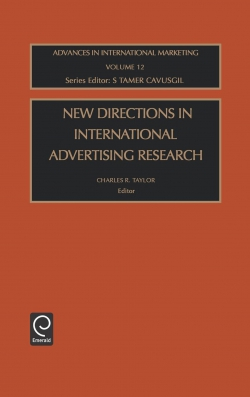 Jacket image for New Directions in International Advertising Research