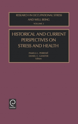 Jacket image for Historical and Current Perspectives on Stress and Health