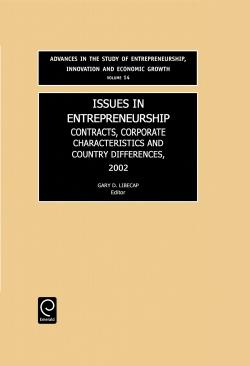 Jacket image for Issues in Entrepreneurship