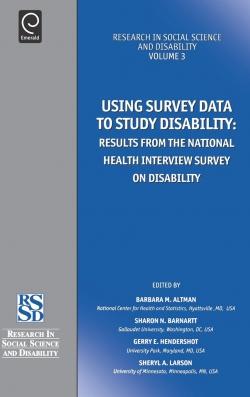Jacket image for Using Survey Data to Study Disability