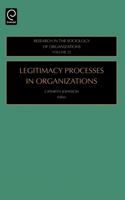 Jacket image for Legitimacy Processes in Organizations
