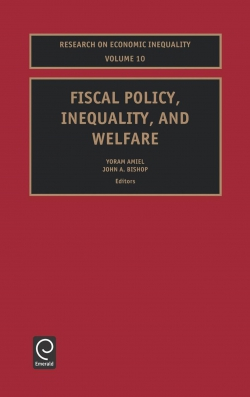 Jacket image for Fiscal Policy, Inequality and Welfare
