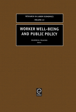 Jacket image for Worker Well-Being and Public Policy
