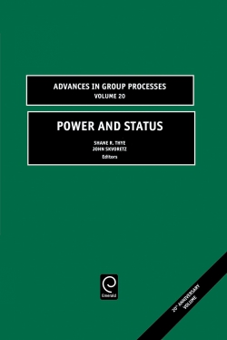 Jacket image for Power and Status