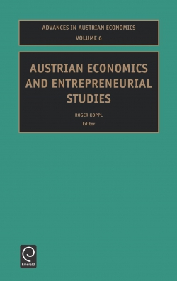 Jacket image for Austrian Economics and Entrepreneurial Studies
