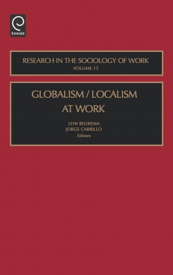 Jacket image for Globalism/Localism at Work