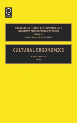 Jacket image for Cultural Ergonomics