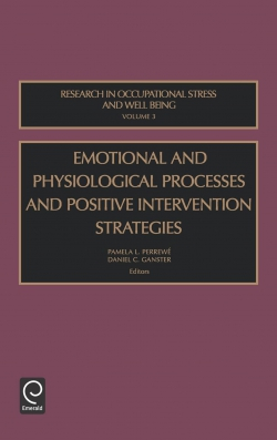 Jacket image for Emotional and Physiological Processes and Positive Intervention Strategies