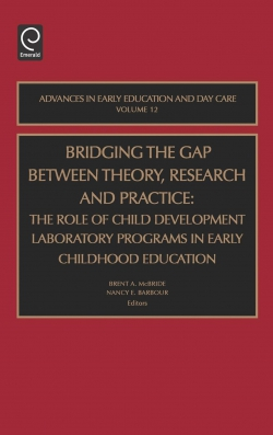 Jacket image for Bridging the Gap Between Theory, Research and Practice