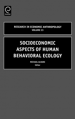 Jacket image for Socioeconomic Aspects of Human Behavioral Ecology