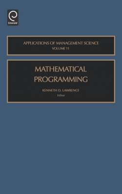 Jacket image for Mathematical Programming