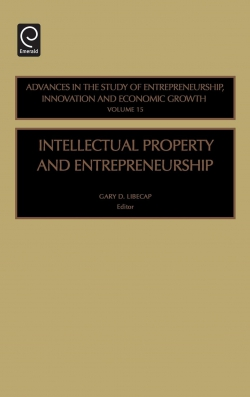 Jacket image for Intellectual Property and Entrepreneurship