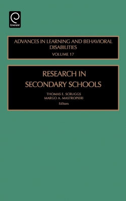 Jacket image for Research in Secondary Schools