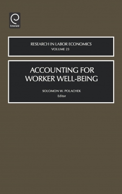 Jacket image for Accounting for Worker Well-Being
