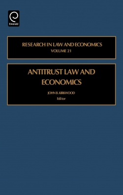 Jacket image for Antitrust Law and Economics