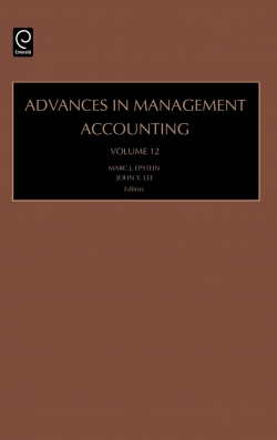 Jacket image for Advances in Management Accounting