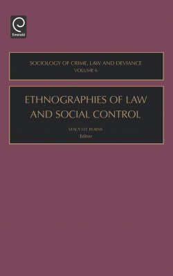 Jacket image for Ethnographies of Law and Social Control
